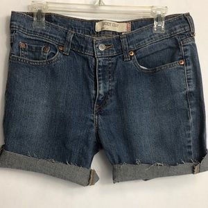 Levis 515 cut off jean shorts